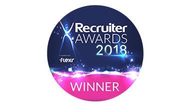 Recruiter awards shortlist logo