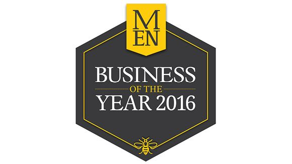 2016 Manchester Evening News Business of the Year Awards logo