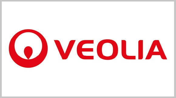 Veolia logo red text