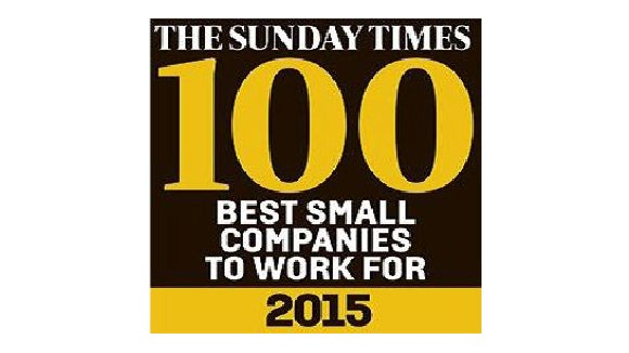 The Sunday Times - Best Small Companies To Work For
