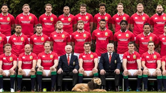 British Lions team 2017 group picture