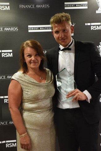 Adam Robinson - Rising Star of the Year - Non/Part Qualified Winner