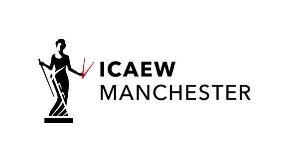 ICAEW logo in black and white