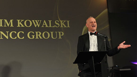 Tim Kowalski, Chief Financial Officer at NCC Group and Lifetime Achievement Award Winner at the 2018 Finance Awards North West