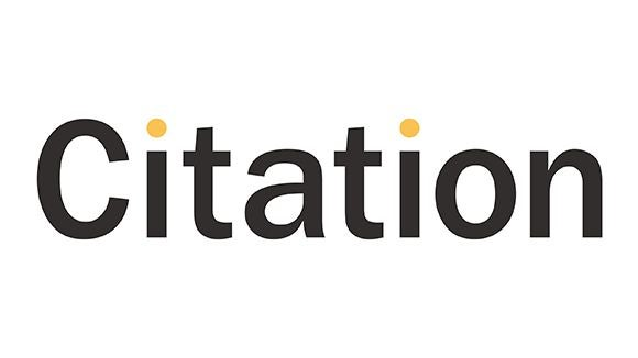 citation logo in grey and yellow
