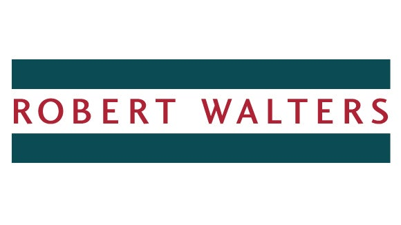 robert walters logo in green and red