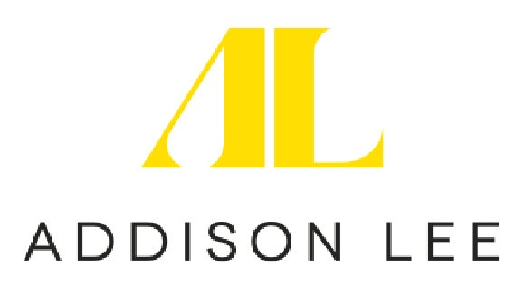 addison lee logo in yellow and black