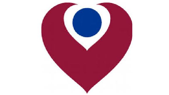 the christie red and blue logo