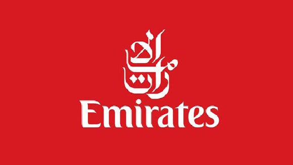 emirates red and white logo