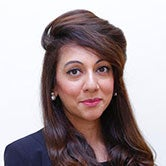 Professional headshot photo of Farzana Khan