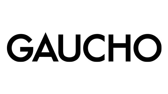 gaucho logo in black - the word gaucho