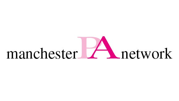 Manchester PA of the Year Awards logo in two shades of pink