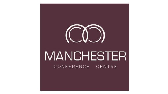 manchester conference centre logo in purple