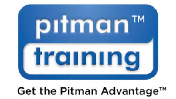 pitman training blue and white logo