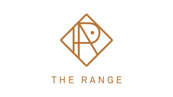 the range gold diamond logo