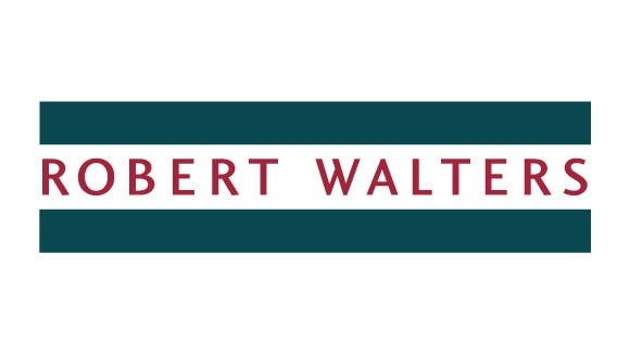 Robert Walters logo green and red