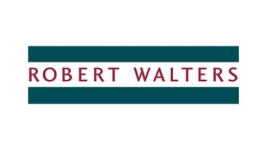 Robert Walters logo on green background